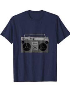 Men And Women Christmas Gift Idea Tshirt Presents box vintage  metal musics
