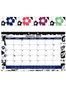 REDIFORM OFFICE PRODUCTS    brownline monthly desk pad calendars