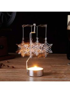 Gotian candle holder craft  tissue papers