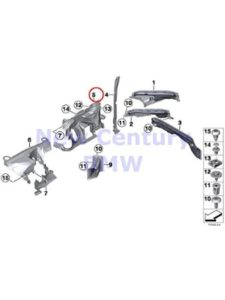 BMW compartment  steering gears