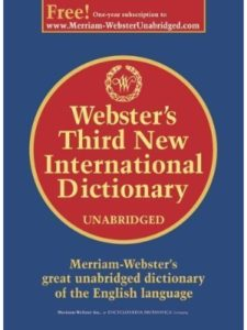 Merriam Webster dictionary  office words