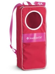 American Girl   doll carriers backpack without pattern