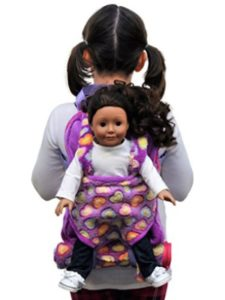 The Queen's Treasures   doll carriers backpack without pattern