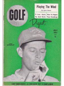 Golf Digest driver  bobby jone