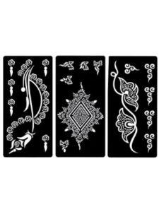 Zaffron eid  henna designs