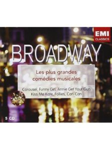 EMI Music France funny girl  broadway musicals