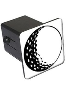 Graphics and More    golf trailer hitch cover