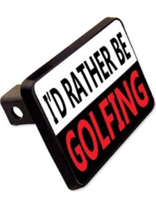 cheapyardsigns    golf trailer hitch cover