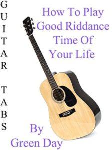 amazon good riddance  guitar tabs