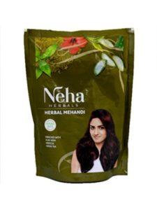 Krishna Mart green  henna powders