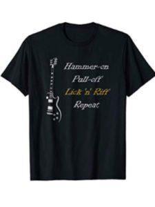 Guitar Player Repeat Tee hammer  guitar techniques