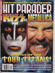 Hit Parader Publications, Inc. heavy jason newsted  metal musics