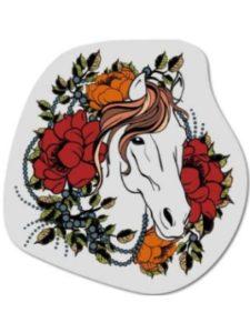 Carframes18 horse  henna tattoos