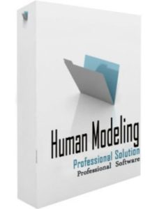 Direct Software human body  3d modelings