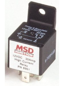 MSD Ignition    ignition activated relays