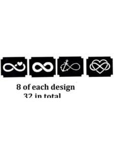 Kaz Creations infinity  tattoo stencils