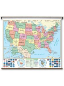 Universal Map ist  time zones