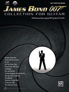 Alfred Music james bond theme  guitar tabs