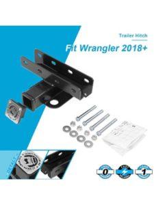 Kingcher jeep wrangler  trailer hitch cover