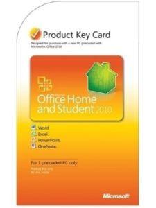 Microsoft key 2010  office words