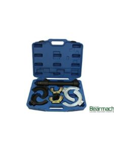 LASER coil spring compressor