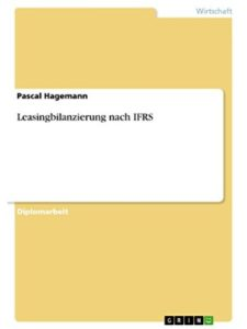 GRIN Verlag lease  accounting ifr