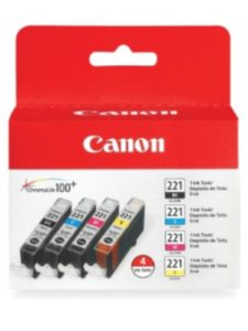 Canon Ink logo  office words