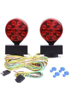 CZC AUTO magnetic trailer  towing light kits