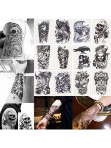 Zamic Store male  henna tattoos