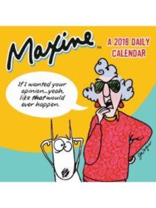 T. F. Publishing maxine 2018  box calendars