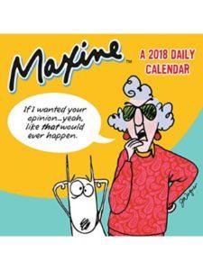 Time Factory maxine 2018  box calendars