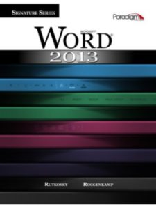 Paradigm Publishing    microsoft word without offices