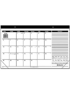 ACCO Brands    monthly desk pad calendar 2018S