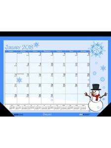 House of Doolittle    monthly desk pad calendar 2018S
