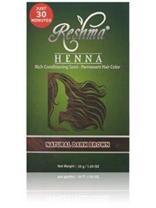 Reshma Femme    natural henna hair colors