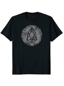 EOS Coin Crptocurrency Blockchain Crypto T shirts news  blockchain bitcoins