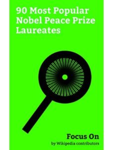 Focus On nobel peace prize  martin luther kings