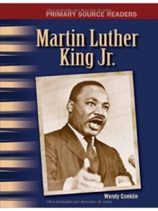 Teacher Created Materials nobel peace prize  martin luther kings