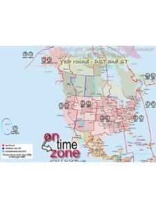 Home Comforts    north america time zones