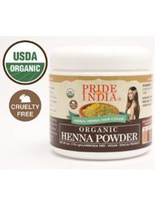 Pride Of India    organic henna hair colors
