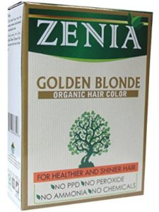 Zenia    organic henna hair colors