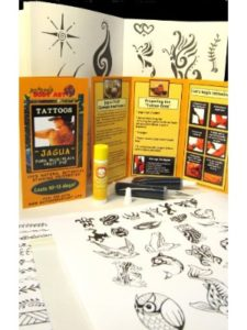 Nature's Body Art / Soulstice Shop organic  henna tattoo kit