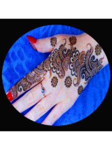 Maneesh pakistani  henna designs