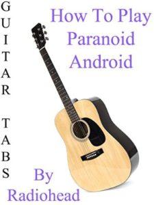 amazon paranoid  guitar tabs