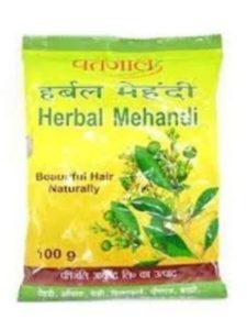 Patanjali henna powder