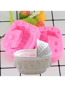 Generic pink candle  baby carriages