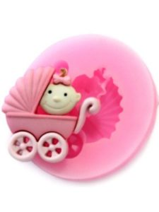 Longzang pink candle  baby carriages
