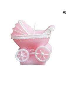 RoseSummer pink candle  baby carriages