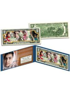 The Merrick Mint portrait  malala yousafzais