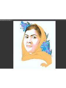 amazon portrait  malala yousafzais